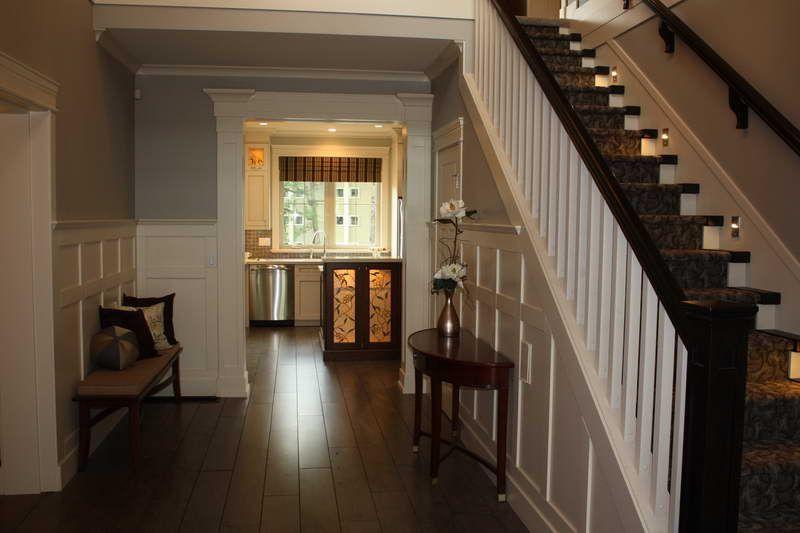 comely tiny home stairs. ReidBuilt Homes  Ridgeway 2 foyer Chestermere Alberta Ridgeway2 Pinterest Foyers