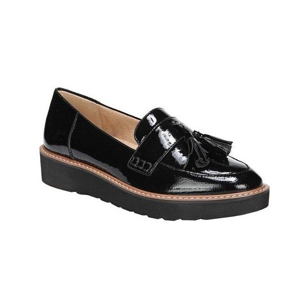 Naturalizer August Metallic Leather Tassel Detail Slip-Ons