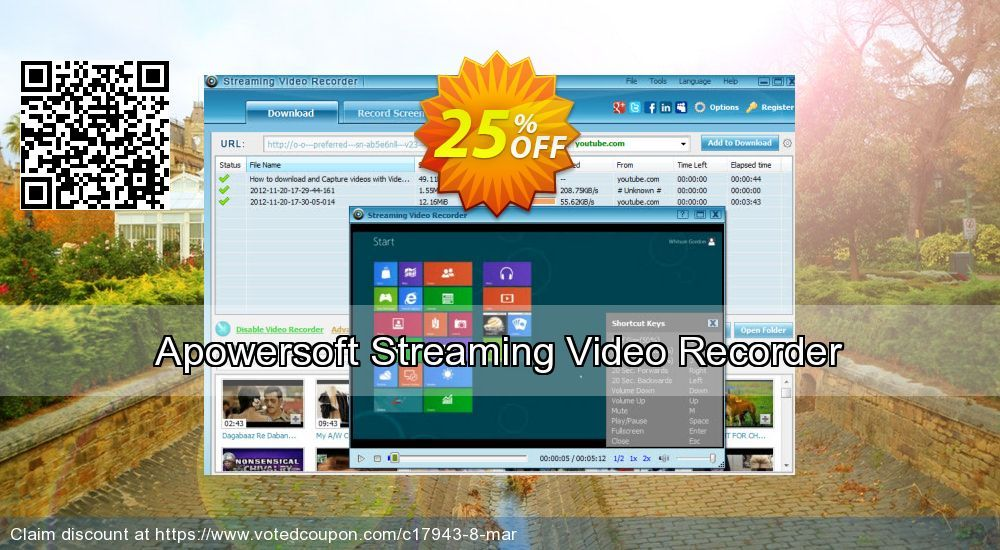Apowersoft Streaming Video Recorder Coupon On April Fool S Day
