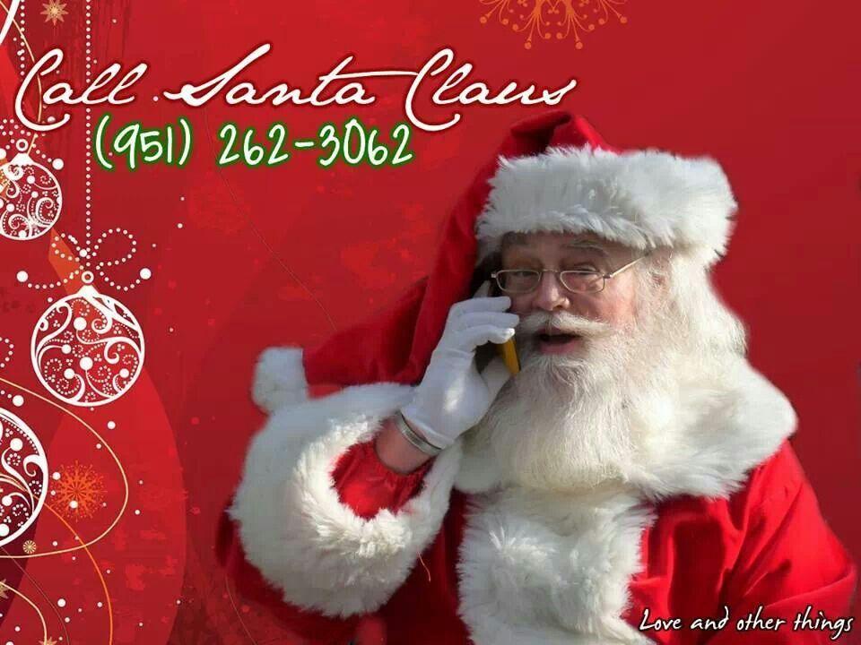 Call Santa Claus Santa Claus Hello Santa Phone Call From Santa