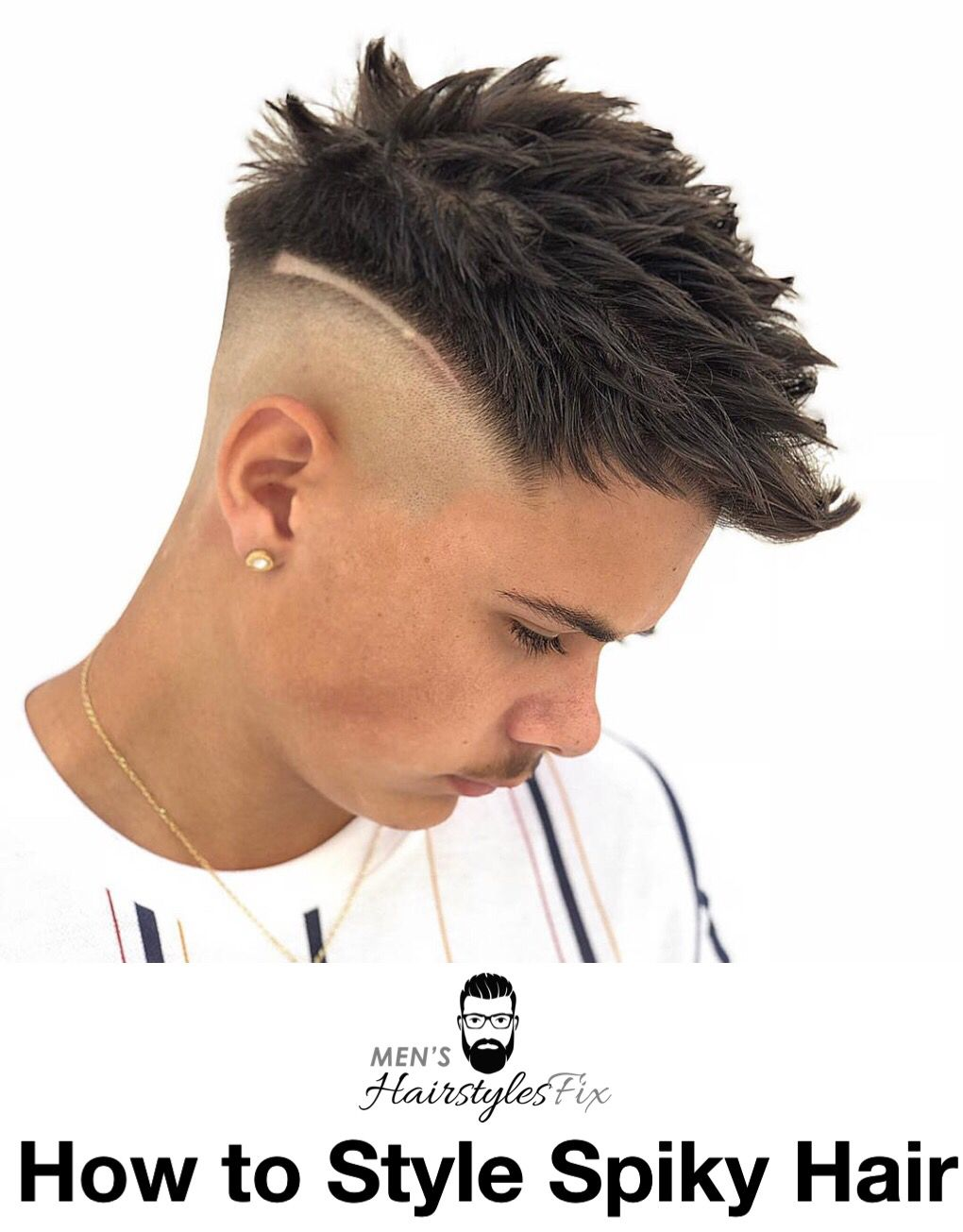 How to style spiky hair tips for achieving cool textured spikes
