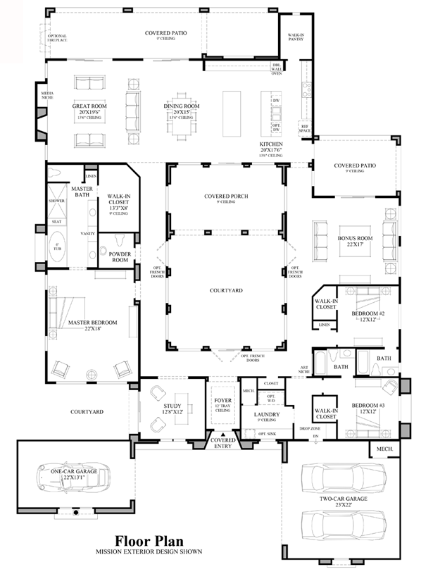 Belamour Floor Plan Home Plans Pinterest Toll brothers Cave