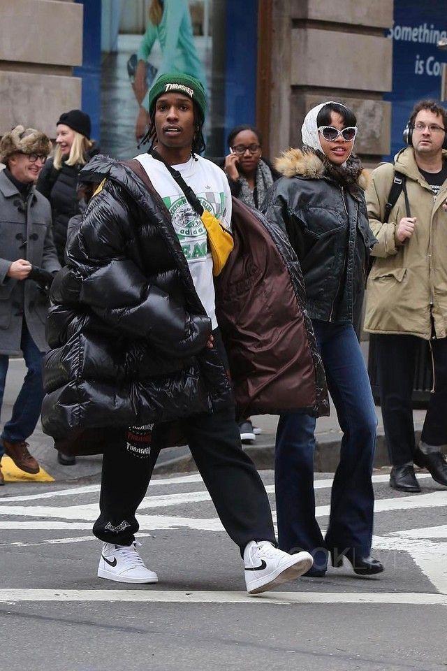 2b969d2b454620 ASAP Rocky wearing Raf Simons Oversized Jacket