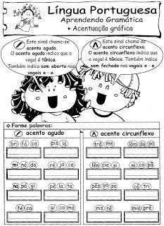 Pin Em Atividade De Portugues