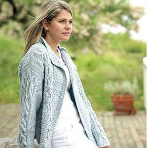 9920cc8ce Knit a patchwork Aran jacket    free knitting pattern