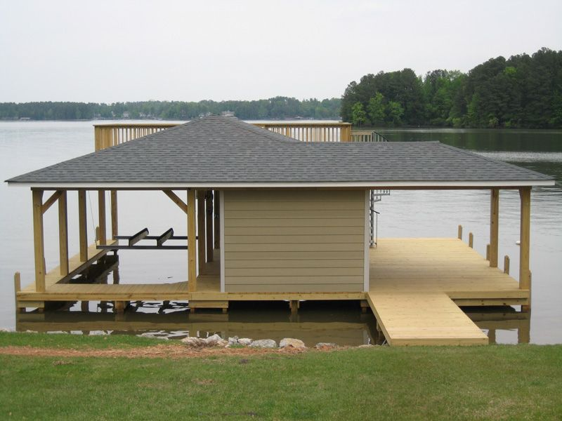 Boathouse Pier Please Review The Pictures Listed Below We Have Many Styles And