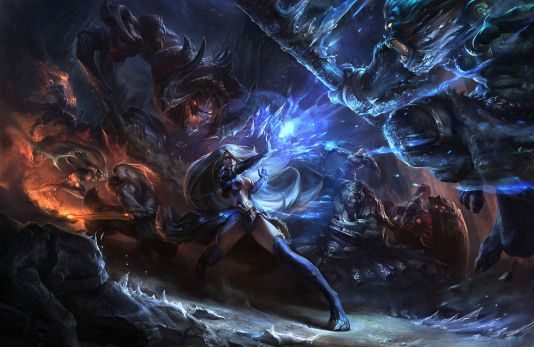 A special tribute to all League of Legends fans with the art of Ku Se, an artist working at Riot Games