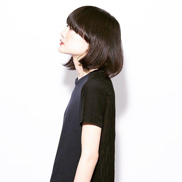 面長で悩む女の子へ 小顔ヘアは ワイドバングで作るんです に含まれるinstagramの画像 Mery メリー モード ボブ ヘアーデザイン 美髪