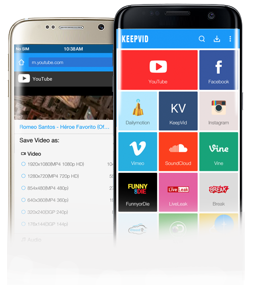 OFFICIAL] KeepVid Android - Free YouTube Downloader for
