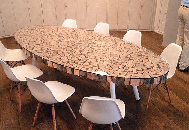 Eettafel Design Hout   Loungeset 2017