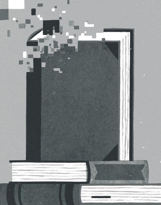 The New Publishing World   David Doran Illustration