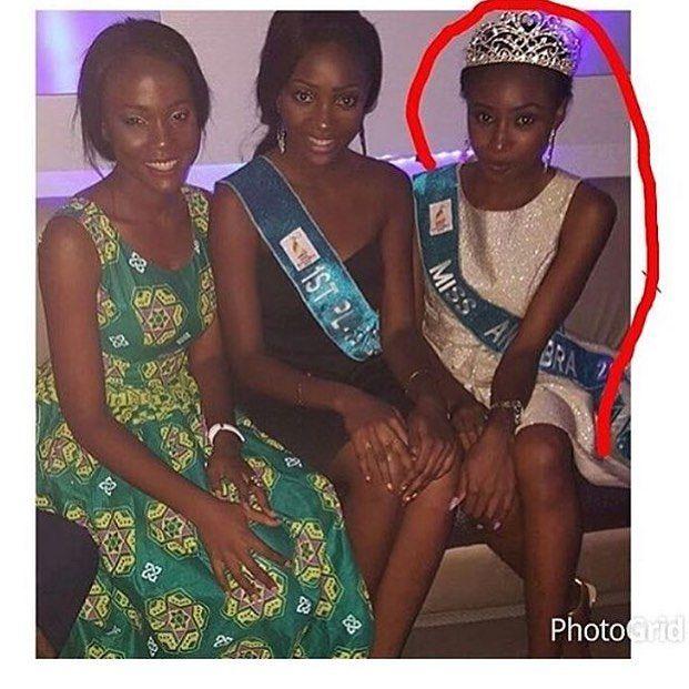 Former #MissAnambra Chidinma Okeke Spotted At