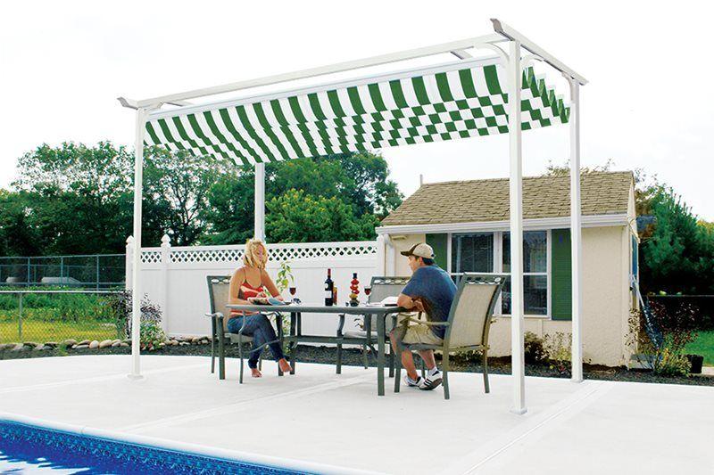 Retractable Canopies Pergola
