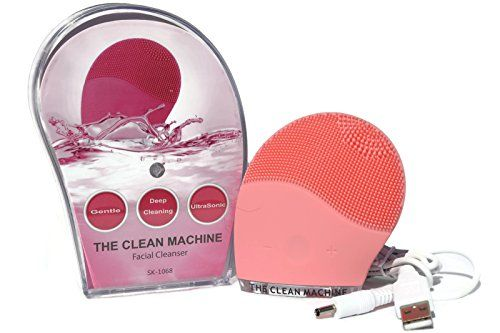 The 1 Most Cost Effective And Highly Rated Facial Cleanser Brush The Clean Machine Facial Scrub Face Mas Facial Cleanser Skincare Brush Sonic Face Cleanser