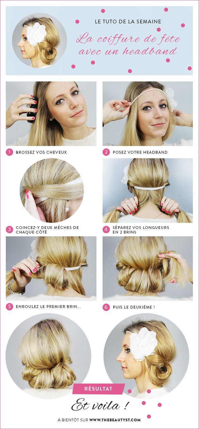 Comment Se Coiffer Pour Les Fetes Une Coiffure Speciale Headband