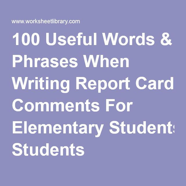 Report Card Comments to Use Now   Scholastic Pinterest Making the grade on report cards  an ongoing debate