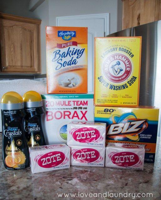 Premium Homemade Laundry Detergent Recipe Love And Laundry
