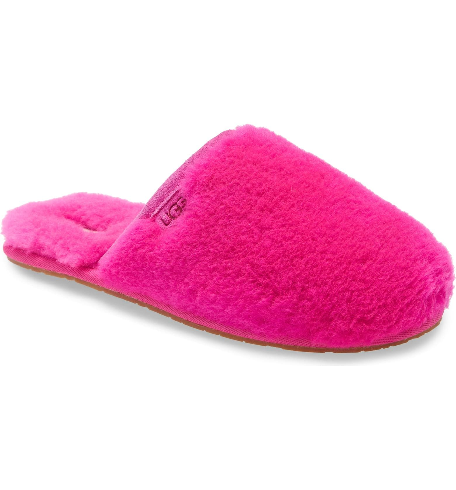 UGG® Fluffette Slipper (Women) | Nordstrom in 2020 | Womens slippers,  Slippers, Pink ugg slippers