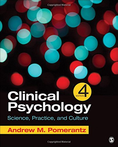 Clinical Psychology Science, Practice, and Culture by