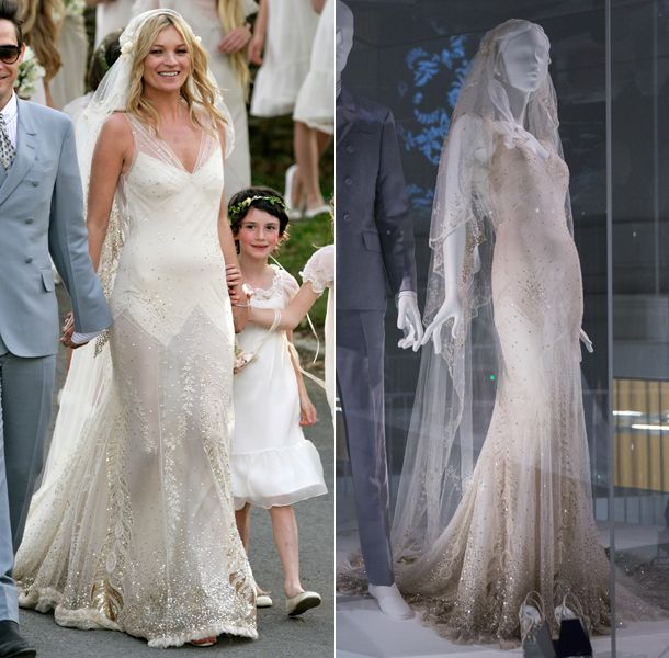 Celebrity Wedding Dresses Go On Display At Victoria And Albert Museum