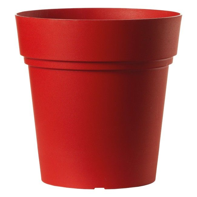 Donica Vaso Samba Czerwona 30 Cm Donice Zewnetrzne Doniczki I Oslonki Uprawa Roslin Ogrod Produkty Planter Pots Planters Pot
