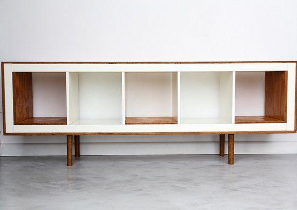 Ikea Kallax Credenza : Ikea hacks mid century modern credenza creative furniture ideas