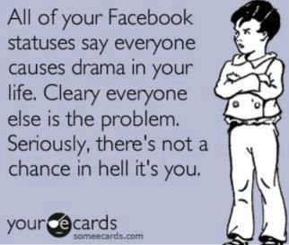 Facebook Drama Quotes And Sayings Facebook Drama
