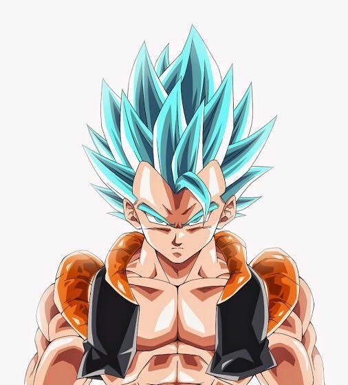Super Saiyan Blue Gogeta Dragon Ball Dragon Ball Z Dragon Ball Gt