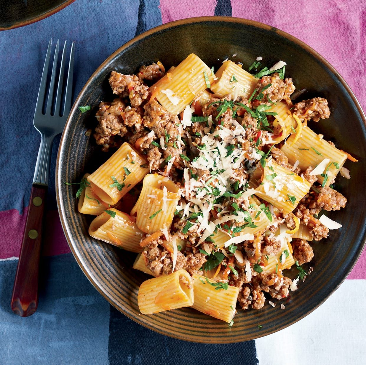 Rigatoni With Lamb Recipe In 2019 Holidays Italian Christmas