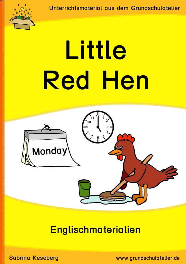 storytelling little red hen unterrichtsmaterial f r die grundschule. Black Bedroom Furniture Sets. Home Design Ideas