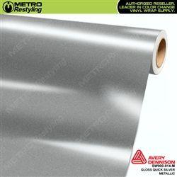 Avery Dennison Sw900 816 M Old Sku Sw900 814 M Gloss Quick Silver Metallic Automotive Vinyl Film Is An Ultra Metallic Film For Car Wraps Car Wrap Vinyl Wrap Car Metal
