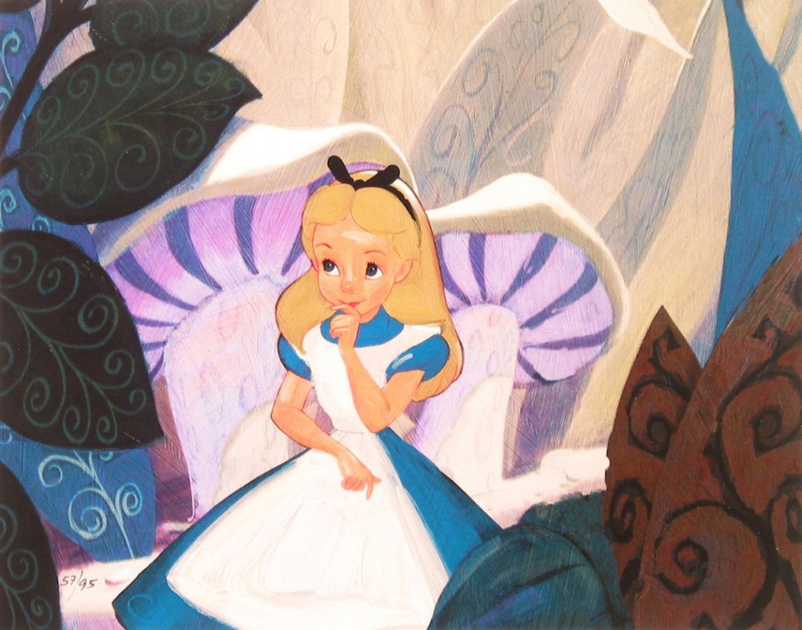 Alice in Wonderland:)