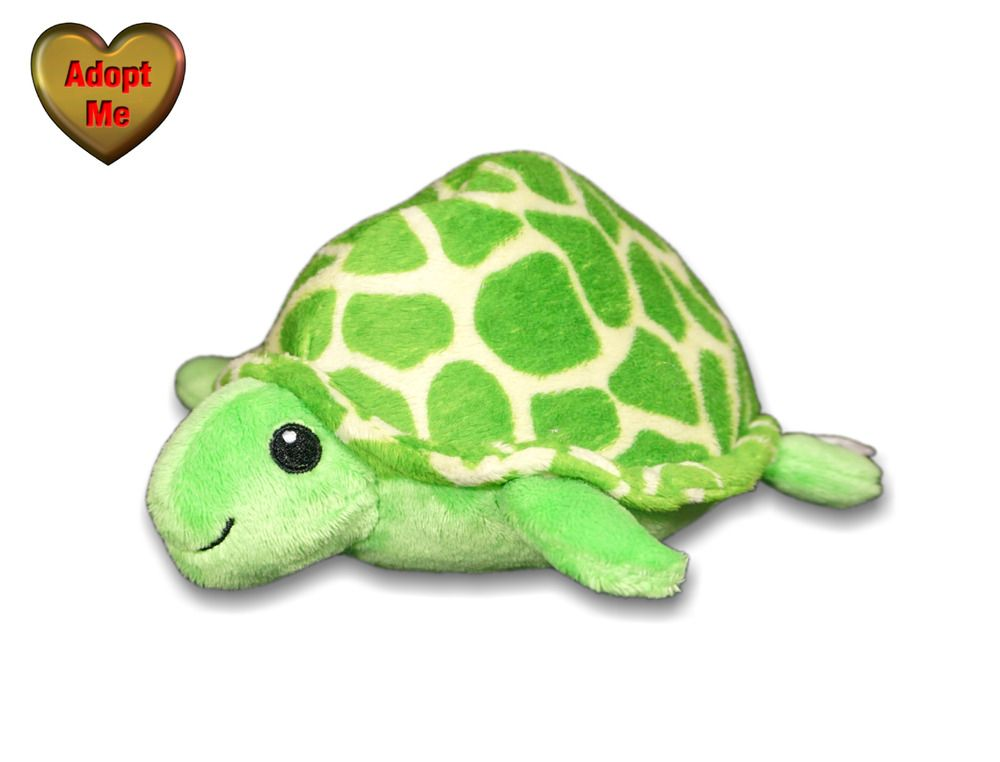 Wishpets 8in Ayotl Green Sea Turtle Stuffed Plush Ocean Sea Animal