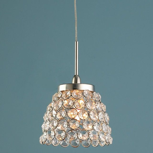 Luxurious Crystal Mini Pendant Light Replacement Shades
