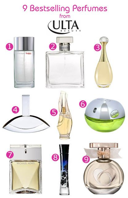 597627aa0bf 9 Bestselling Perfumes from Ulta