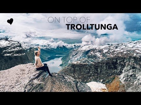 NORWAY VLOG - at the amazing Trolltunga - YouTube
