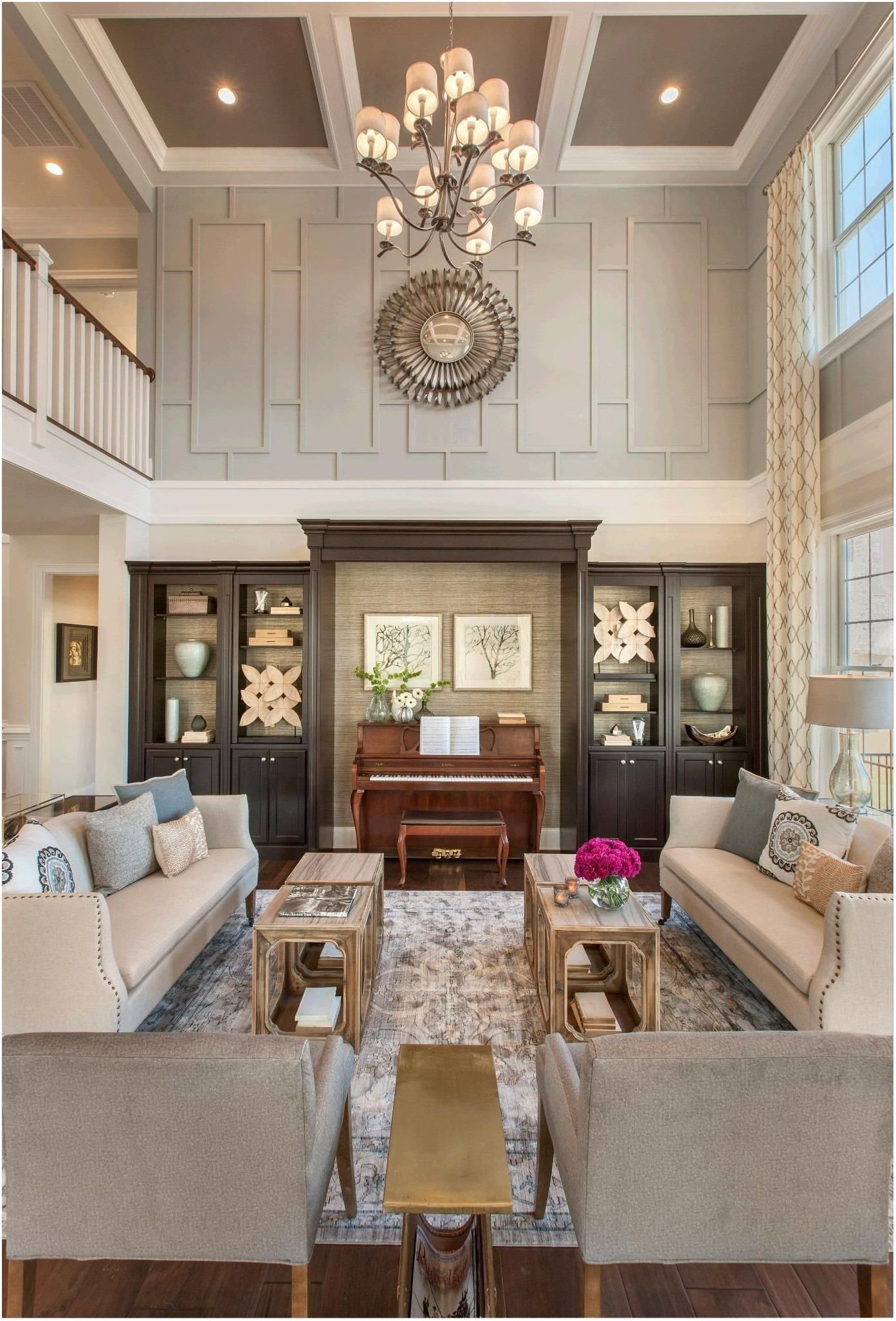 High Ceiling Living Room Paint Ideas High Ceiling Living