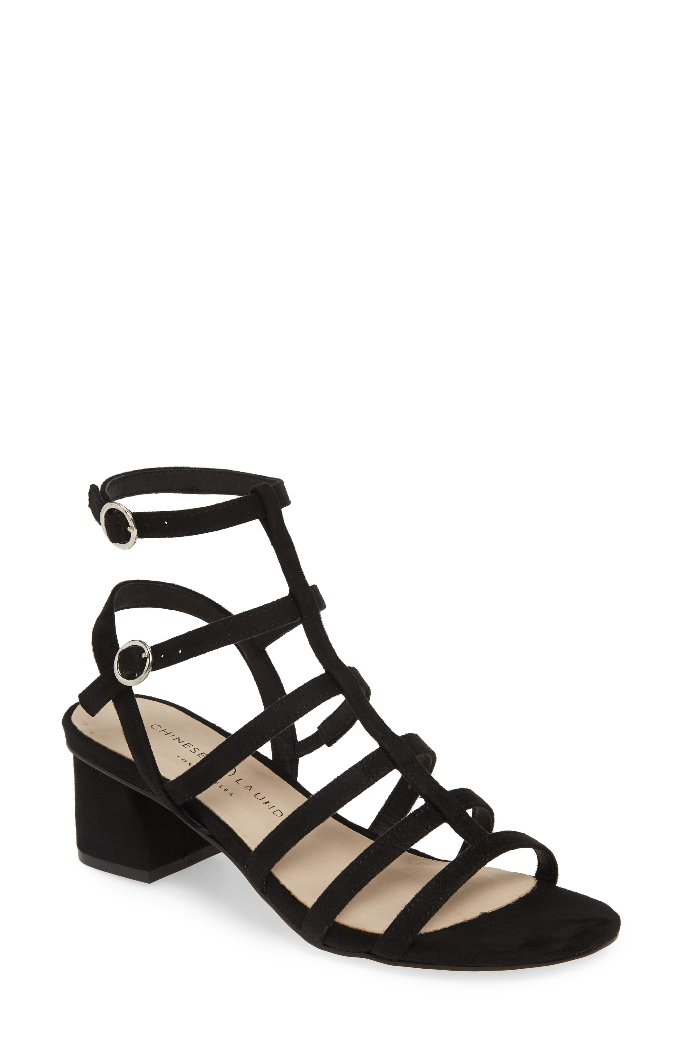 Chinese Laundry Monroe Strappy Cage Sandal Women In 2020 Caged
