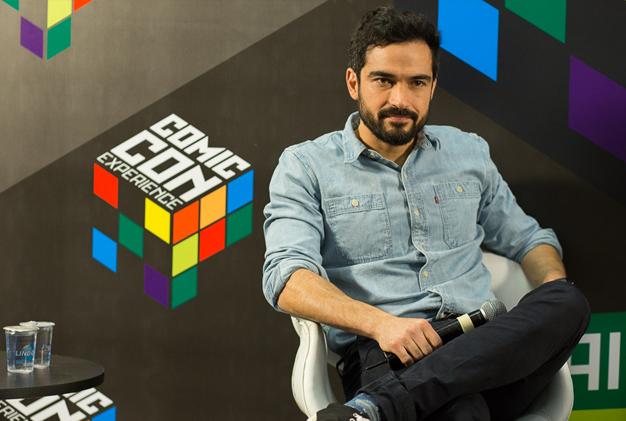 Alfonso Herrera CCXP 2015