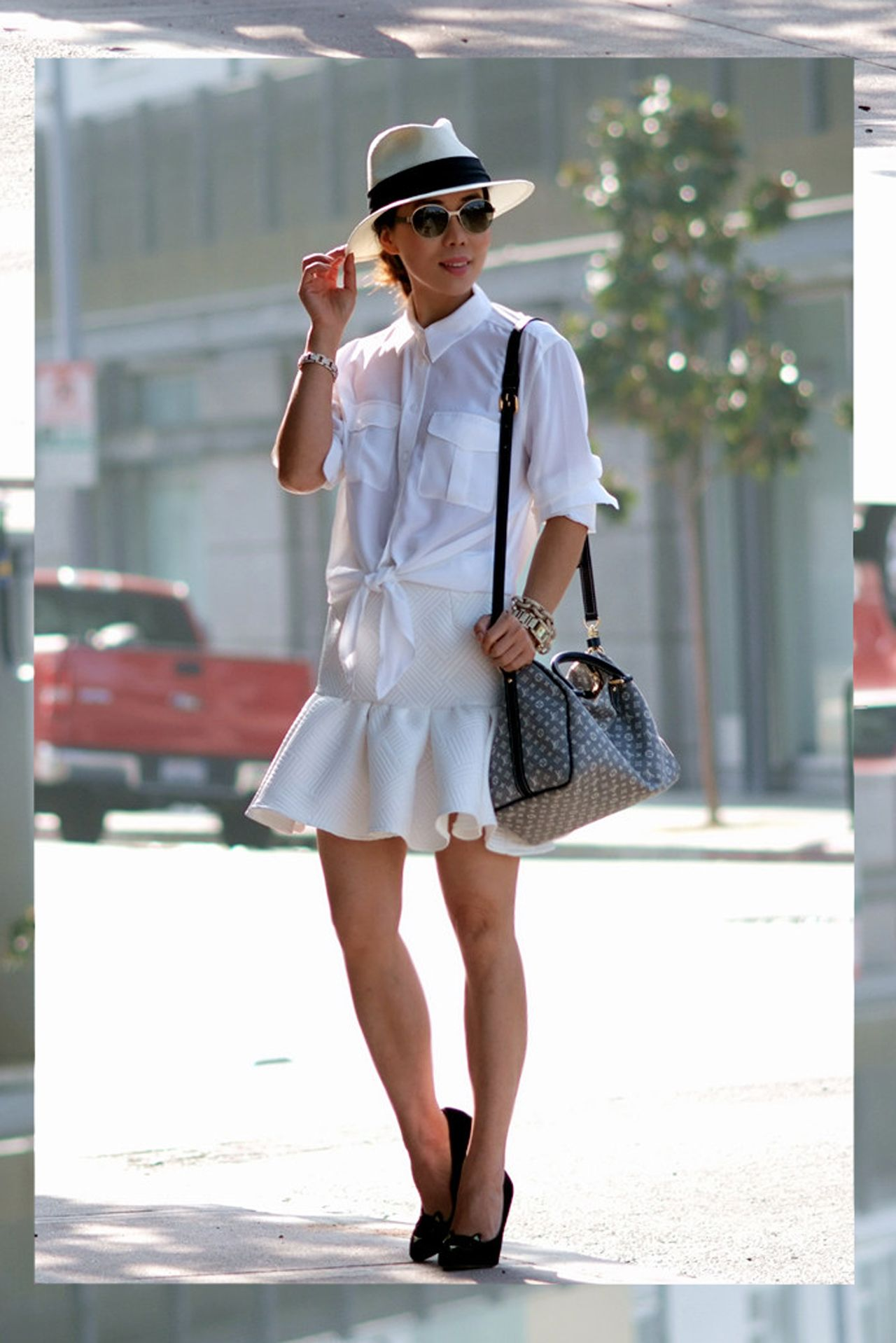 Q with Vanity Fair's Best Dressed Blogger Hallie Swanson