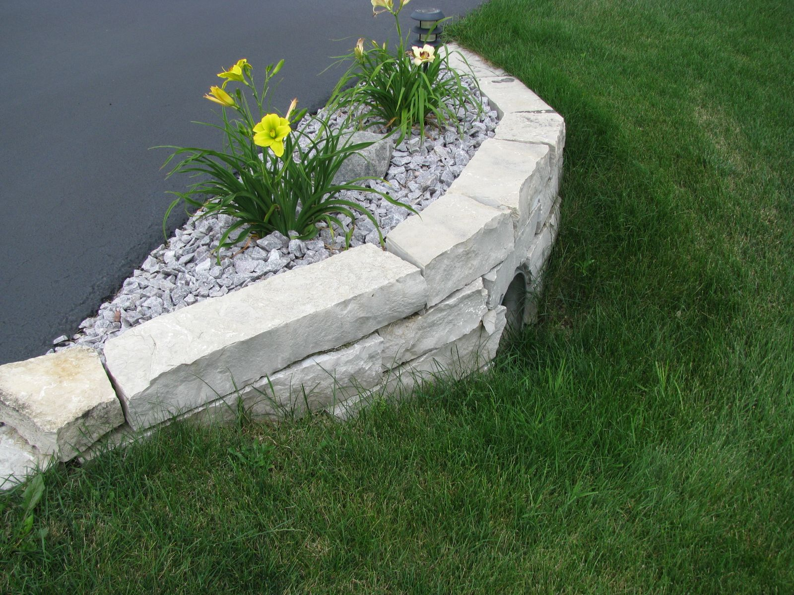 driveway culvert stone wall culverts driveways. Black Bedroom Furniture Sets. Home Design Ideas