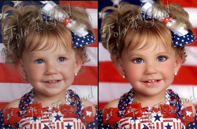 Before Aftertoddlers In Tiaras How Much Editing Im Just Not A