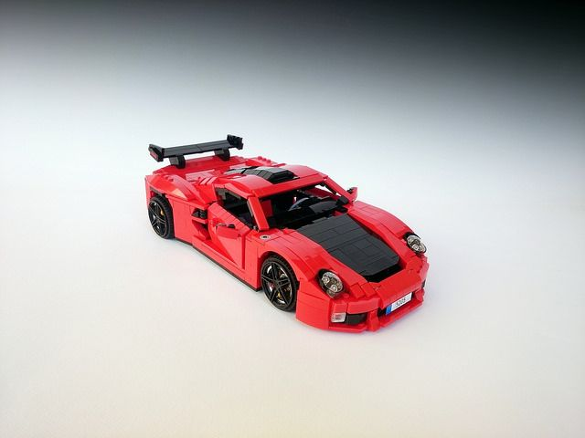 If A Porsche Is Just A Bit Too Ordinary The Brothers Brick Lego Cars Best Lego Sets Lego