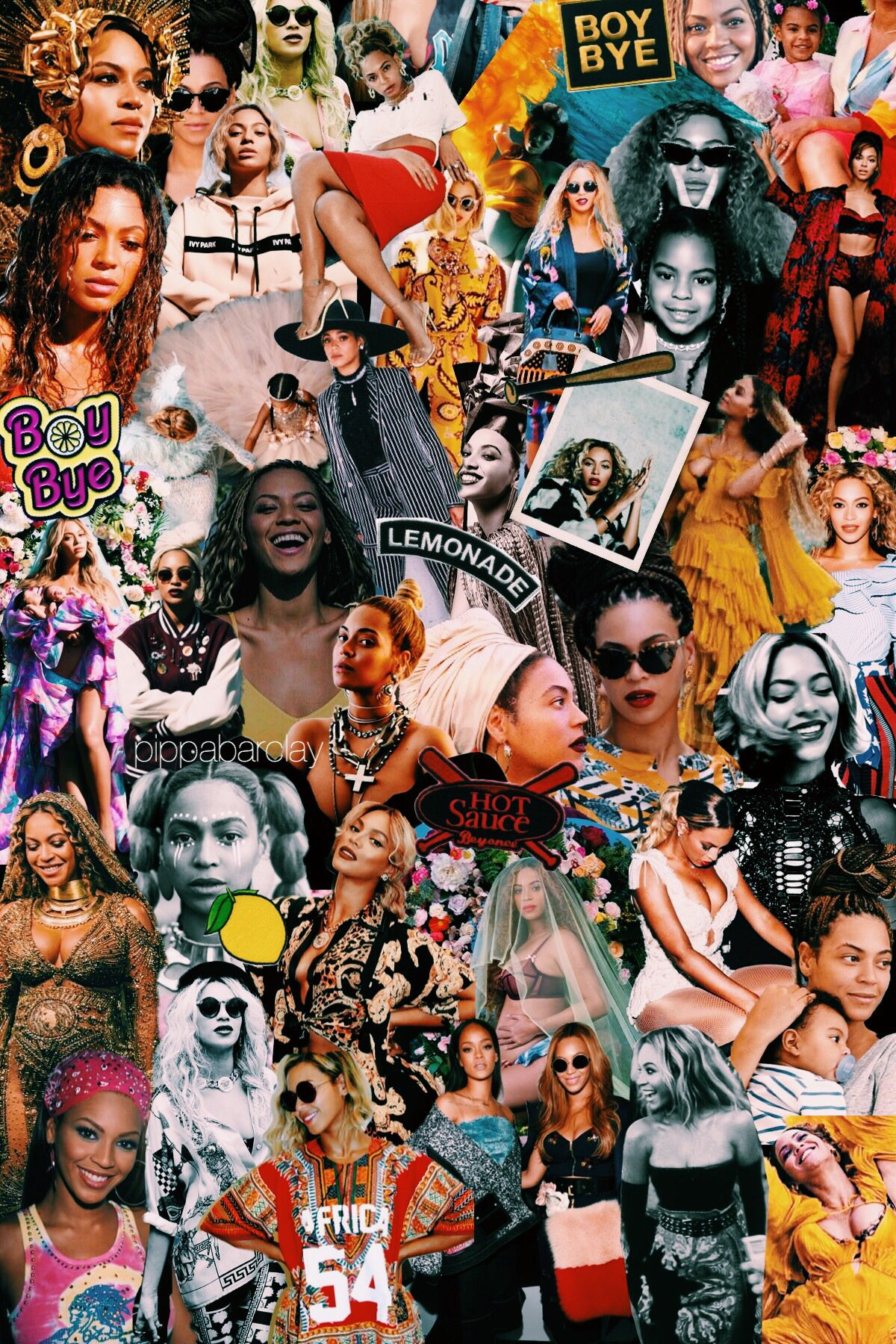 Pin de Dawn Bracy em Beyoncé Beyonce, Colagem de revista