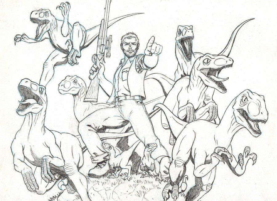 Jurassic World by on DeviantArt