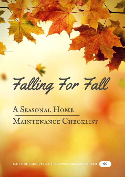 Photo of Falling For Fall | Fall Checklist For The Home