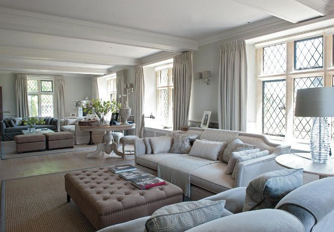 Long Living Room Decorating Ideas Long Living Room Divided In Two