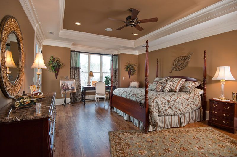 20 Simple Tray Ceiling Design To Make Your Room More Stylish Master Bedroom Lighting Bedroom Paint Colors Master Interior Design Bedroom