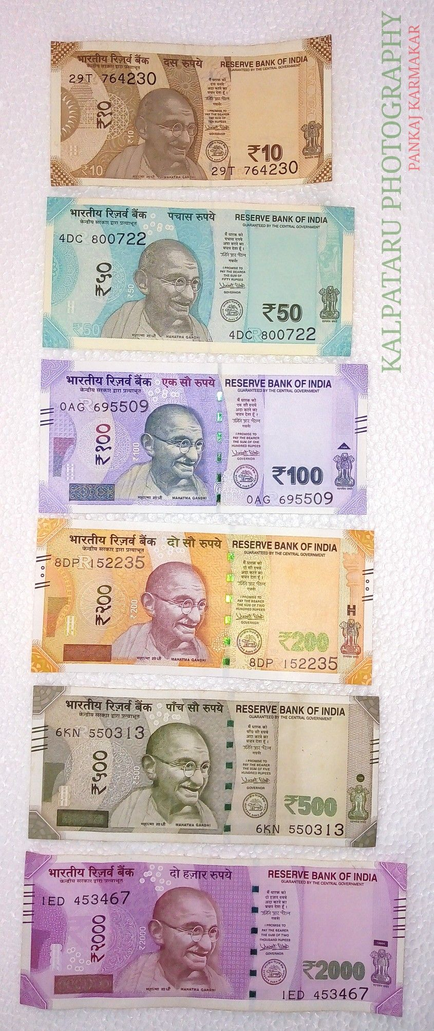 The New Indian Currency Photography By Pankaj Karmakar