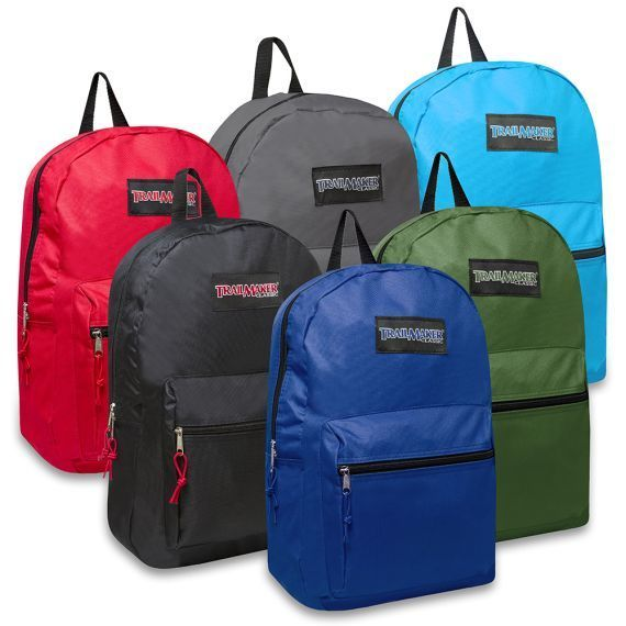 Wholesale 17 Inch Trailmaker Backpack Case of 24 New With